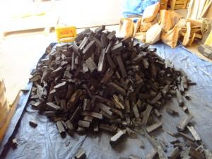 炭窯の写真