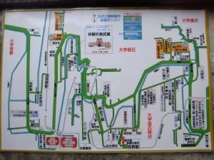 吾野駅の地図